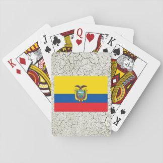 Bandera de Ecuador Barajas De Cartas