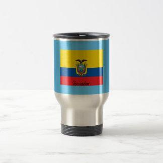 Bandera de Ecuador Taza De Viaje