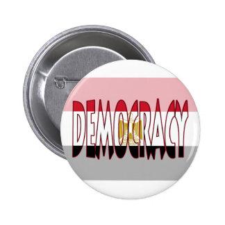 Bandera de Egipto - democracia Pin