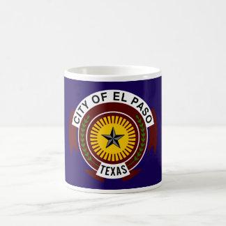 Bandera de El Paso Tazas De Café
