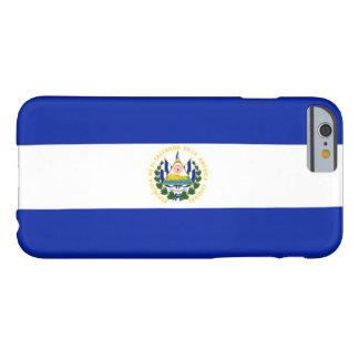 Bandera de El Salvador Funda Para iPhone 6 Barely There