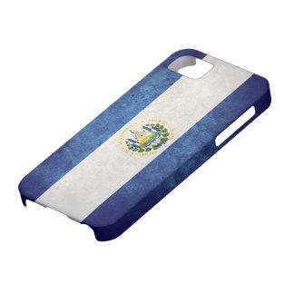 Bandera de El Salvador iPhone 5 Cárcasas