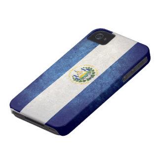 Bandera de El Salvador iPhone 4 Case-Mate Coberturas