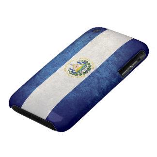 Bandera de El Salvador iPhone 3 Cárcasa