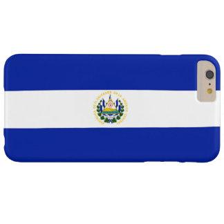 Bandera de El Salvador Funda Barely There iPhone 6 Plus