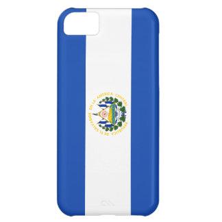 Bandera de El Salvador Funda iPhone 5C