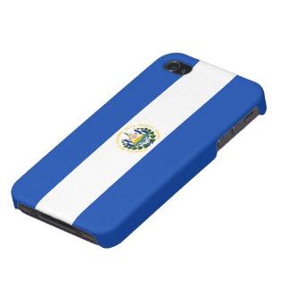 Bandera de El Salvador iPhone 4 Protector