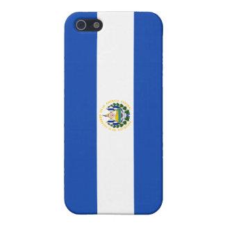 Bandera de El Salvador iPhone 5 Fundas