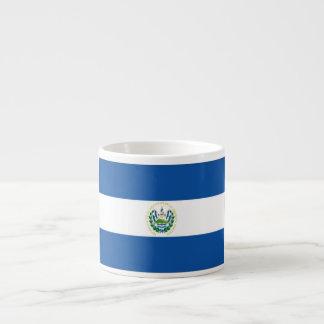 Bandera de El Salvador Taza Espresso