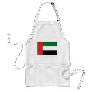 Bandera de Emiradosarabes Delantal