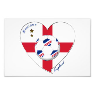 Bandera de ENGLAND FÚTBOL del equipo nacional 2014 Fotografía