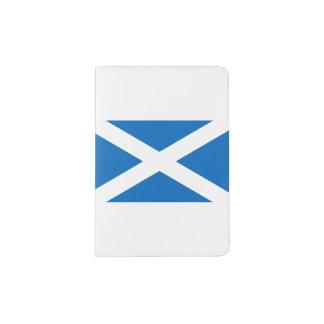Bandera de Escocia - bandera escocesa Portapasaportes