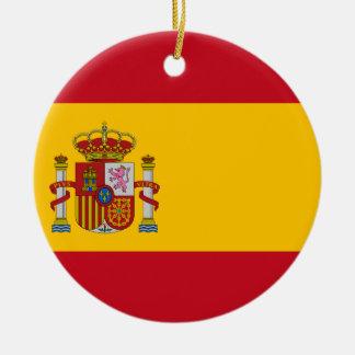 Bandera de España Adorno De Cerámica