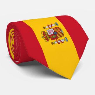 Bandera de España Corbata Personalizada