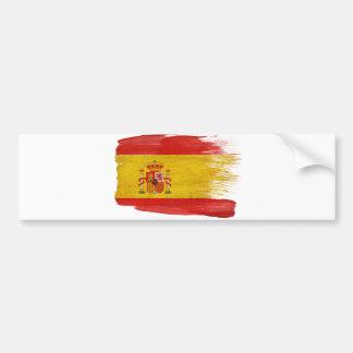 Bandera de España Pegatina Para Coche