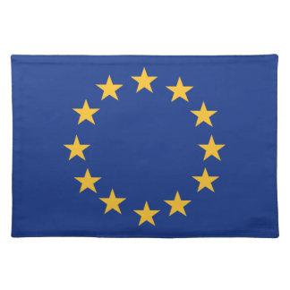 Bandera de Europeanunion Salvamanteles