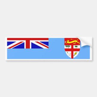 Bandera de Fiji Pegatina Para Coche
