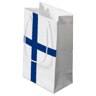 Bandera de Finlandia Bolsa De Regalo Pequeña