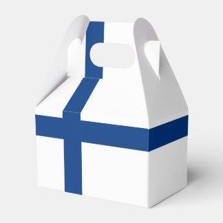 Bandera de Finlandia Caja Para Regalos