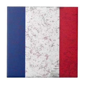 Bandera de Francia del la de Pavillon de Francia Azulejo Cerámica
