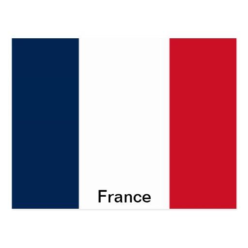 Bandera de Francia Postal