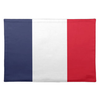Bandera de Francia Salvamanteles