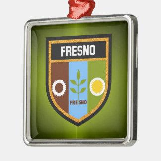 Bandera de Fresno Adorno De Cerámica