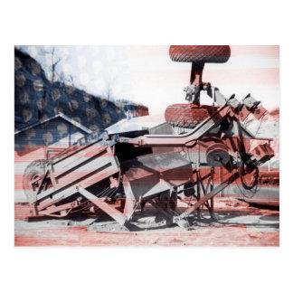 Bandera de funcionamiento del ingeniero del equipo postal
