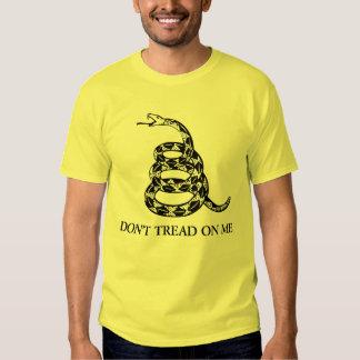 bandera de Gadsden - no pise en mí Camiseta