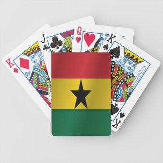 Bandera de Ghana Baraja De Cartas Bicycle