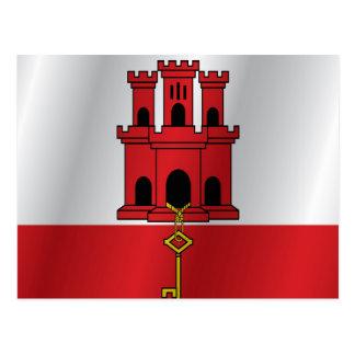Bandera de Gibraltar Postal