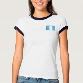 Bandera de Guatemala + Camiseta del mapa