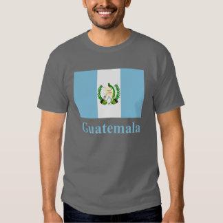 Bandera de Guatemala con nombre Camisetas