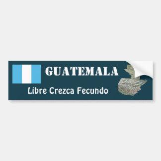 Bandera de Guatemala + Pegatina para el