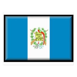Bandera de Guatemala Postal