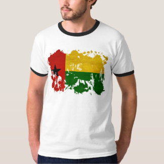 Bandera de Guinea-Bissau Camisas