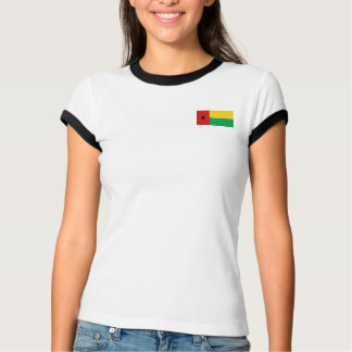 Bandera de Guinea-Bissau + Camiseta del mapa