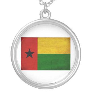 Bandera de Guinea-Bissau Colgante Redondo
