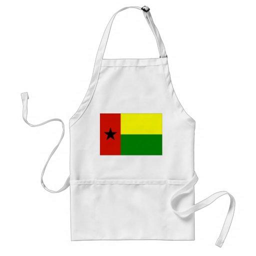 Bandera de Guinea-Bissau Delantales