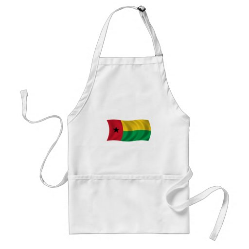 Bandera de Guinea-Bissau Delantal