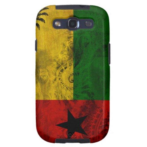 Bandera de Guinea-Bissau Galaxy S3 Carcasa