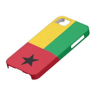 Bandera de Guinea-Bissau Funda Para iPhone 5 Barely There
