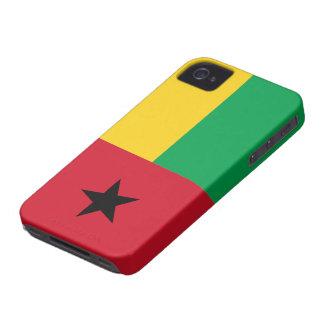 Bandera de Guinea-Bissau Case-Mate iPhone 4 Cárcasas