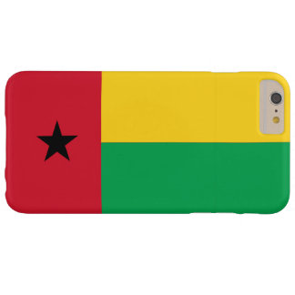 Bandera de Guinea-Bissau Funda Barely There iPhone 6 Plus
