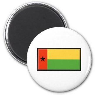 Bandera de Guinea-Bissau Imanes Para Frigoríficos