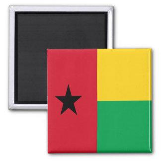 Bandera de Guinea-Bissau Imán De Frigorífico