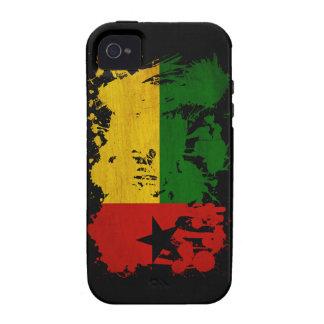 Bandera de Guinea-Bissau iPhone 4 Fundas
