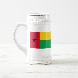 Bandera de Guinea-Bissau Jarra De Cerveza