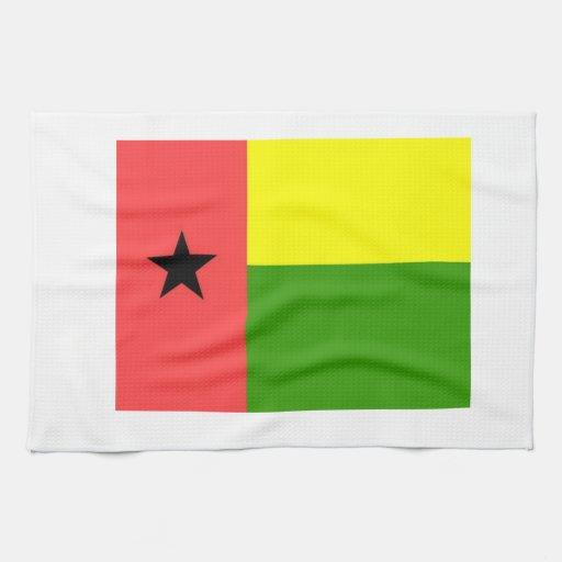 Bandera de Guinea-Bissau Toalla
