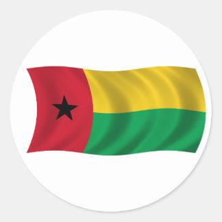 Bandera de Guinea-Bissau Pegatinas